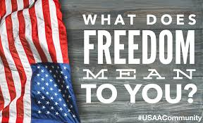 What Does The Usa Flag Represent What Does Freedom Mean To You Usaa Community 129340
