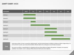 gantt chart for powerpoint powerpoint templates pinterest