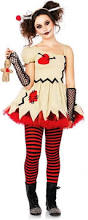 Super Scary Halloween Costumes Girls 20 Voodoo Doll Costumes Ideas Voodoo Doll