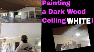 to paint or not to paint dark wood ceiling how to paint a wood
