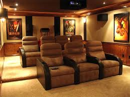 Theatre Room Decor Fascinating Theater Room Decorating Ideas 56 In Home Interior
