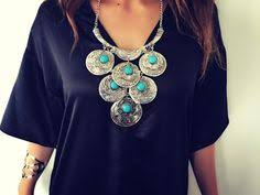 eclectic layered bead necklace forever21 1000125312 from my