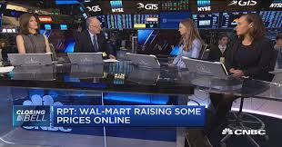 wal mart raising prices online shows difference between it and