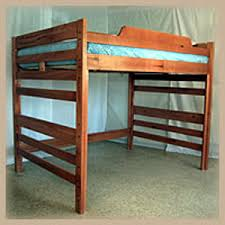 Hardwood Bunk Bed Wooden Loft Beds Aspen Hardwood Loft Bed Ru2 Rm