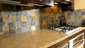 slate tile kitchen backsplash kitchen backsplashglass tile and slate mix kitchen backsplash