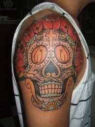the best shoulder tattoos designs sugar skull shoulder tattoo 100 the best skull tattoo designs for