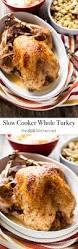 thanksgiving crock pot recipes slow cooker whole turkey the little kitchen