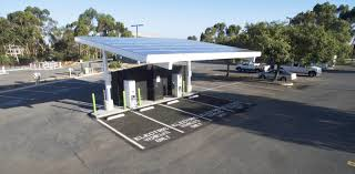 electric vehicles charging stations the first electric vehicle dc fast charging station capable of 350