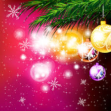 christmas ornaments beautiful background vector free vector 4vector