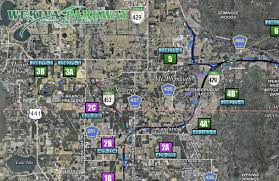 Toll Roads In Florida Map by The First Leg Of The Long Awaited Wekiva Parkway Opens On