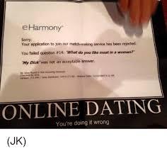 Eharmony Meme - when you get tired of eharmony and start using blackpeoplemeetcom