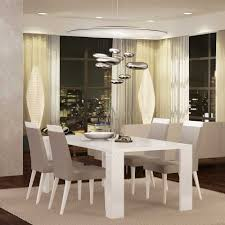 White Dining Room Sets Diamond White Dining Table By At Home Usa W Options