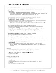 Sample Resume Oil And Gas Industry by Resume Templates Senior Mechanic Oil Field Resume Objectives