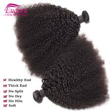 Hair Extension Malaysia by Malaysian Curly Virgin Hair 3 Bundles Afro Curly Hair