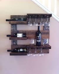 fabulous wood wall mounted wine glass rack wood wine glass rack