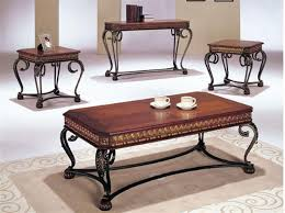 Coffee And End Table Sets End Tables Designs Astounding Looked In Brown Varnished Wooden
