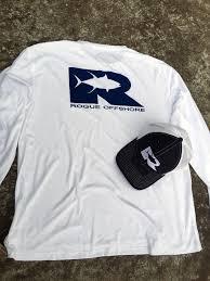 offshore performance shirt ls white navy u2013 rogue offshore