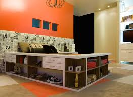 211 Best Teen Bedrooms Images by Interior Design Cool Kids Room Functional Space Saving Ideas