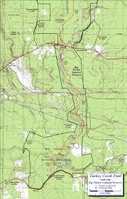 Hiking Maps Turkey Creek Trail Big Thicket National Preserve Texas Free