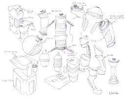 water bottle ideation sketches by c maeng on deviantart