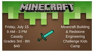 Challenge Minecraft Minecraft Challenge C In Oklahoma City The Div