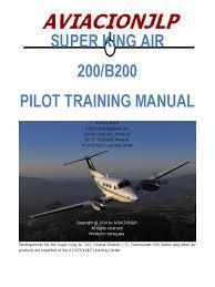 be 200 pilot u0027s training manual jlp aircraft flight control