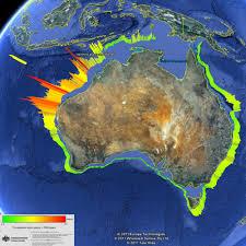 Australian Time Zone Map by Making Waves The Tsunami Risk In Australia