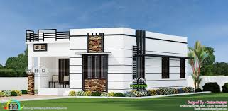 2 bhk 900 sq ft flat roof home kerala home design and floor plans