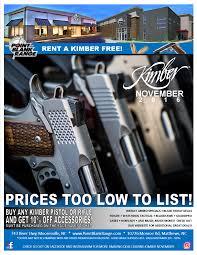 10 best black friday gun deals kimber november 2016 point blank range