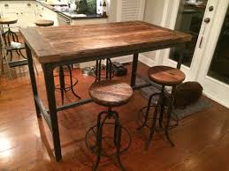 High Dining Room Tables Best 25 Bar Height Dining Table Ideas On Pinterest Bar Table
