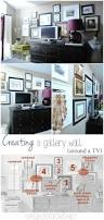 creating a gallery wall behind a tv tips on how to implement