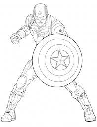 Captain America Coloring Page Captain America Coloring Pages Free Coloring Pages