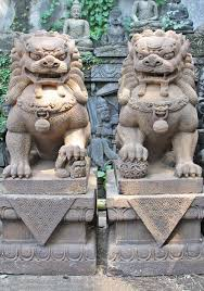 foo dogs for sale sold pair of guardian lions or foo dogs 51 95ls3 hindu