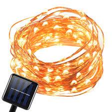 Copper String Lights by Solar Light U2013 Amir