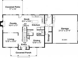 easy home blueprints plans ideas picture simple house floor plan rectangle plans lrg ddf home build