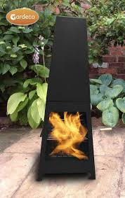 Clay Chiminea Bbq Gardeco Sven Steel Chiminea With Bbq Grill And Rotisserie