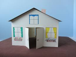 3d paper house children u0027s craft youtube
