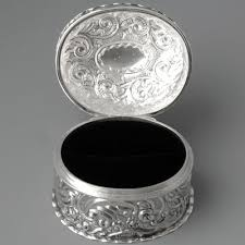 jewelry rings box images Jewelry boxes sterling silver wedding ring box jpg