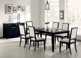 coaster dining room table louise dining table 101561 in black by coaster w options