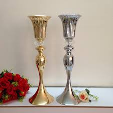 compare prices on decorative gold flower vases online shopping