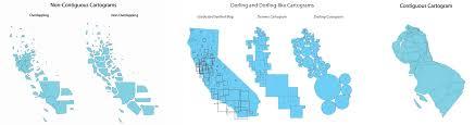 Cartogram Map Cartogram U2013 Infomind U2013 An Info Century Blog