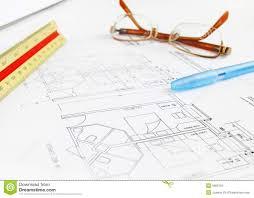 architect plan architect building plan hotel royalty free stock photo image