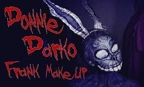 frank halloween mask donnie darko frank costume make up face paint tutorial youtube