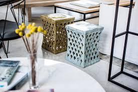 Ceramic Side Table Ceramic Side Table Mcm House