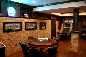 Gaming Room Decor Decorating Impressive Basement Room Ideas Pool4 And With