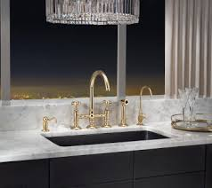 rohl a1461ws country c spout bridge faucet with sidespray