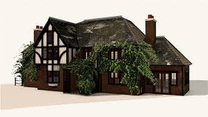 cottage house free c4d 3d model spach alspaugh cottage house the pixel lab