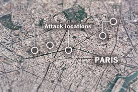 Live Attack Map What We Know About The Paris Attacks And The Hunt For The