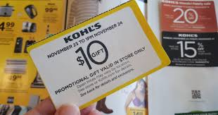 10 any kohl s in store purchase coupon check mailbox hip2save