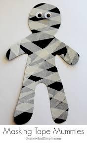 halloween mummy crafts and treats the idea room